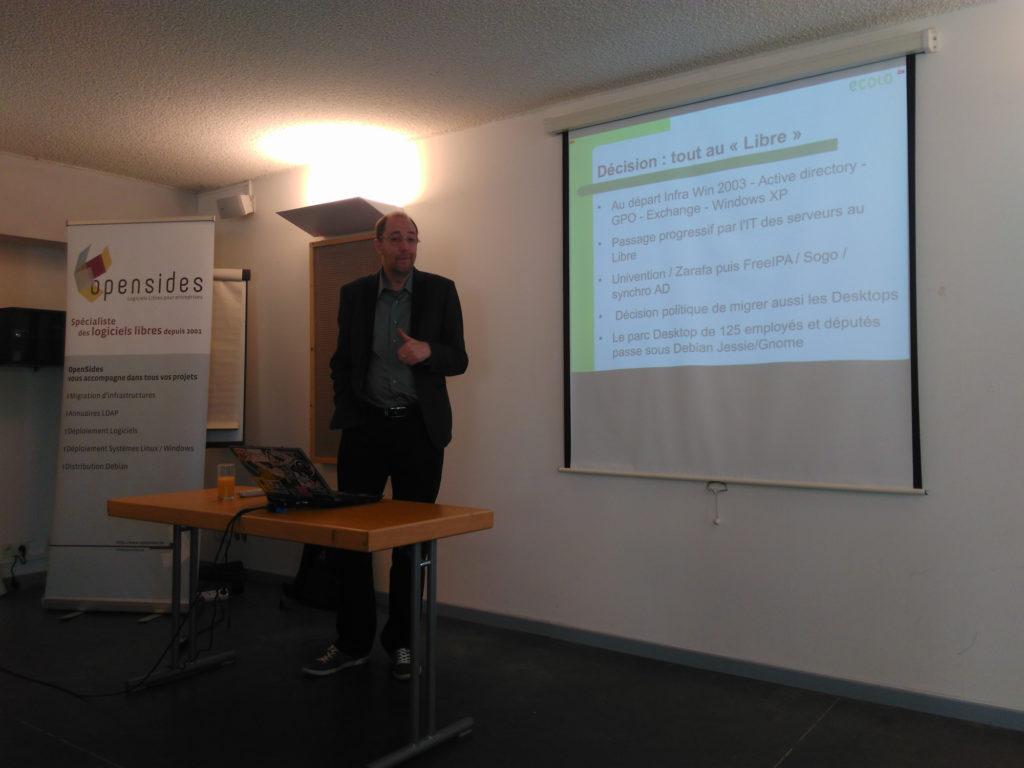 Vincent Van osta présente les raisons de la migration Ecolo