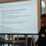 Benoit Mortier présente l'interface de FusionDirectory