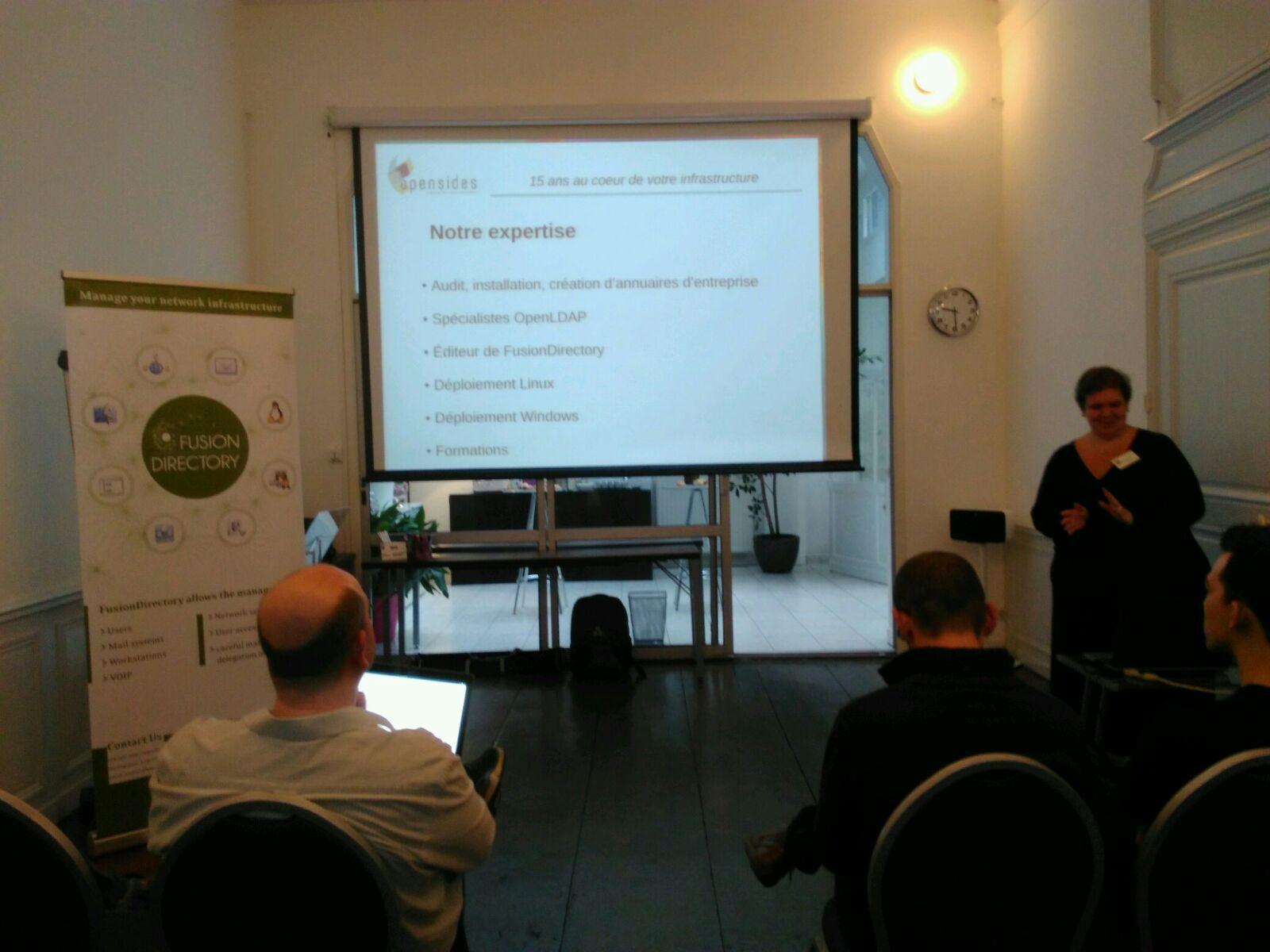 Paola Penati présente la Société OpenSides