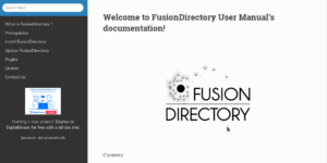La documentation FusionDirectory est maintenant sur readthedocs