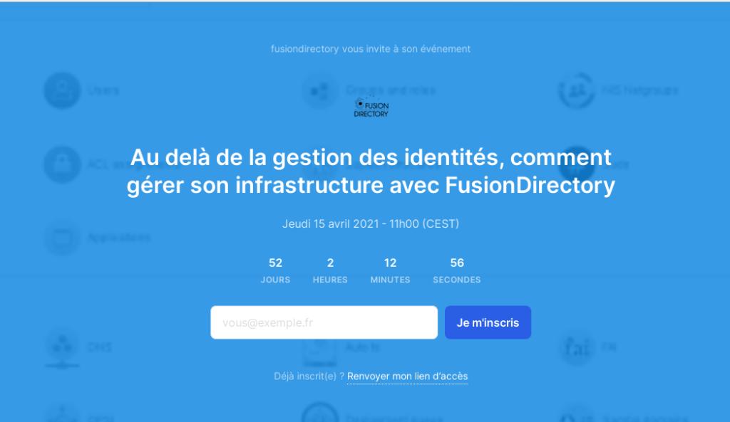 Au delà de la gestion des identités, comment gérer son infrastructure avec FusionDirectory