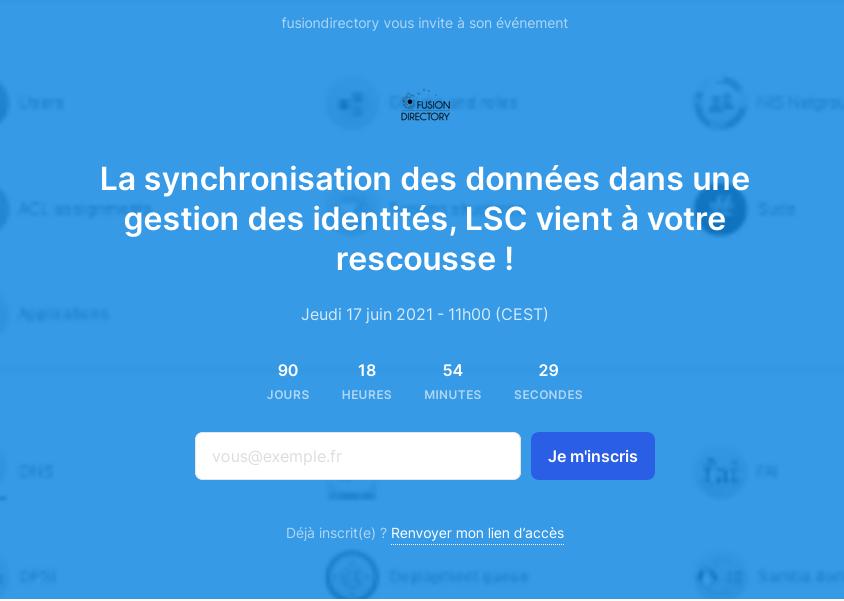 La synchronisation des données dans une gestion des identités, LSC vient à votre rescousse !